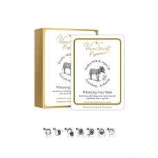 Venus Secrets Donkey Milk Face Mask  Whitening Face Mask 5x30ml