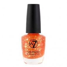 W7 Nail Polish 15ml - 169 Orange Flakes by W7