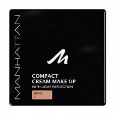 Compact Cream Make Up By Manhattan Cosmetics Color: Beige 3