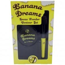 W7 Banana Dreams Loose Powder Contour Set2 Τεμ