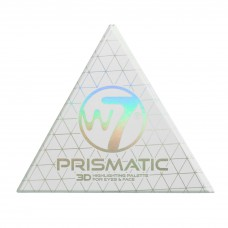 W7 Cosmetics Prismatic 3D Highlighting Palette Eyes & Face 3.2gr