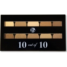 W7 Cosmetics Perfect 10 out of 10 Brown Shades 10gr