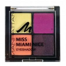 Manhattan Miss Miami Nice Quattro Eyeshadow Palette-No.2.