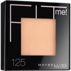 Maybelline Fit Me Set + Smooth Pressed Powder - 125 Nude Beige (9gr)