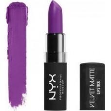 NYX Professional Makeup Velvet Matte Lipstick - 09  Violet Voltage 4gr