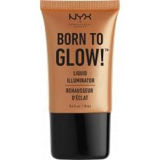 Nyx Professional Makeup Born To Glow Liquid Illuminator Pure Gold 18ml