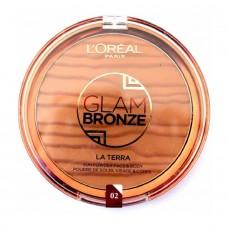L'Oreal Glam Bronze La Terra Face & Body Sun Powder 02 Capri 18g