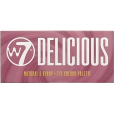 W7 Cosmetics Delicious Natural and Berry Eye Colour Palette 11.2g
