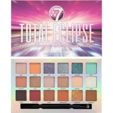 W7 Cosmetics Total Eclipse Pressed Pigment Eyeshadow  Palette 18g