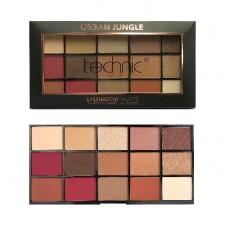 Technic 15 Colours Eyeshadow Palette – Urban Jungle