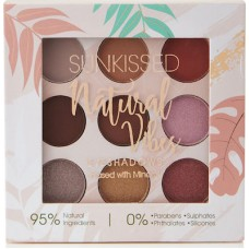 Sunkissed Natural Vibes Eyeshadow Palette  (9g)