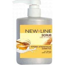Imel New Line Milk & Honey Scrub 500ml