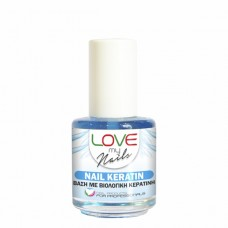 LOVE MY NAILS NAIL KERATIN-ΒΑΣΗ ΚΕΡΑΤΙΝΗΣ -16ml