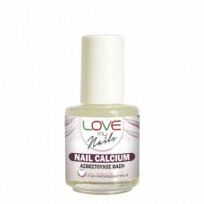 LOVE MY NAILS NAIL CALCIUM-ΑΣΒΕΣΤΟΥΧΟΣ ΒΑΣΗ -16ml