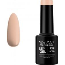 Elixir Make-Up Semi Gel 648 Pugin Yellow 5ml