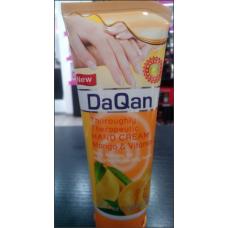 DaQan κρέμα χεριών με άρωμα mango και βιταμίνη C 120ml