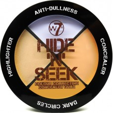 W7 Cosmetics Hide & Seek Anti Redness Quad