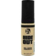 W7 Cosmetics Hide Out Full Cover Concealer Light 9ml