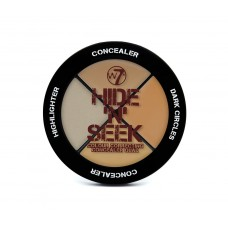 w7Hide 'N' Seek - Concealer Quad Natural (5gr)