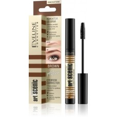 EVELINE Art Scenic Eyebrow Corrector 3in1 Brown
