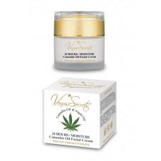 Venus Secrets 24 HOURS / MOISTURE FACE CREAM - Cannabis Face Care