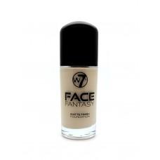 w7 Face Fantasy Matte Foundation - Sand 30ml