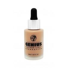 w7 Genius Foundation - Natural Tan 30ml