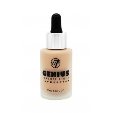 w7 Genius Foundation - Sand Beige 30ml