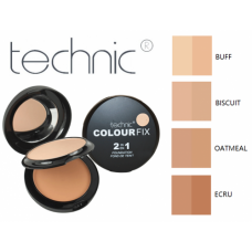 Colour Fix 2-in-1 Pressed Powder & Cream Foundation-Buff 22gr