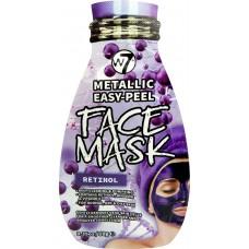 W7 Cosmetics Metallic Easy-Peel Retinol Face Mask 10gr