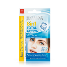Eveline Total Action 8in1 Many Problems One Ssolution SOS Mask Peeling 7ml