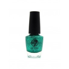 w7Nail Polish 8 Green Dazzle 15ml