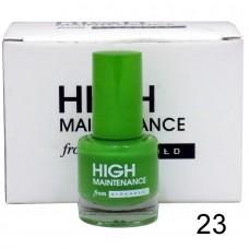 high maintenance nail polish color 23