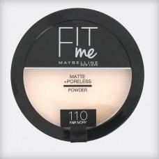 maybelline fit me powder 110 Fair Ivory 14g