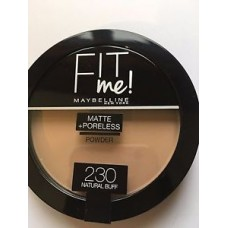 MAYBELLINE FIT ME POWDER 230 NATURAL BUFF 14G