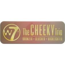 W7 Cosmetics The Cheeky Trio - Bronzer ,Blusher & Highlighter