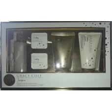 Grace Cole Σετ δώρου ( Προϊόντα 4 τεμαχίων:Κρέμα Σώματος,Αφρόλουτρο,Bath Essence,Bath Fizzer)
