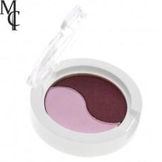Σκιά ματιών δίχρωμη - μώβ - Ρόζ Sixteen Cosmetics No 512