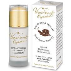 Venus Secrets Snail Extract & Argan Oil Ultra Vitalizing Anti-Wrinkle Serum 40ml